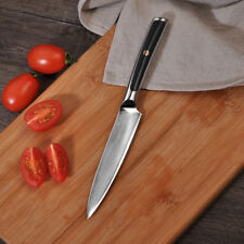 5 Inch japanese steel chef knife high damascus steel kitchen utility knife VG10
