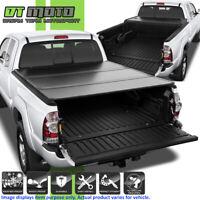 """Hard Tri-Fold Tonneau Cover For 2005-2015 Toyota Tacoma Double Cab 6FT (72"""") Bed"""