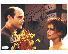 "(SSG) ROBERT PICARDO & CHASE MASTERSON Signed 10X8 ""Star Trek"" Photo - JSA COA"