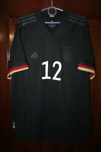 Germany Deutschland 2020 2021 Away Euro Player Issue Adidas shirt jersey Size XL