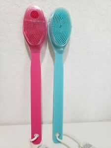 BATH & BODY WORKS SILICONE CLEANSING BRUSH & MASSAGER NEW   pink or blue