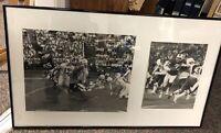Unique Oddball Framed Photos Buffalo Bills AFL NFL Billy Shaw Auto War Memorial