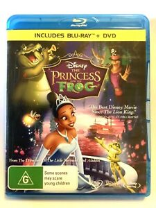 THE PRINCESS AND THE FROG BLU RAY - AS NEW
