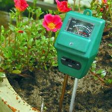 3 in 1 PH Tester Soil Water Moisture Light Test Meter for Garden Plant Flower OY