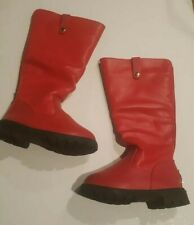 GUG Red Girls Boots Size 29