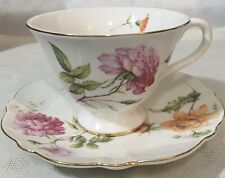Grace's Teaware Floral Tea Cup And Saucer