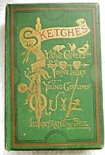 Sketches By Quiz Illustrated by Phiz HB UK 1880 Undated Cassell Petter & Galpin