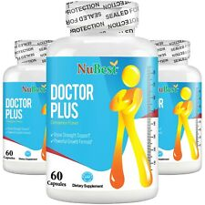 Pack of 3 bottles - Doctor Plus Bone Growth Supplement For Kids (10+) & Teens
