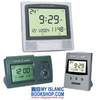 AL FAJR ISLAMIC AZAN DIGITAL CLOCK MUSLIM PRAY 5 TIMES ADHAN CT-01/CS-03/CW-05