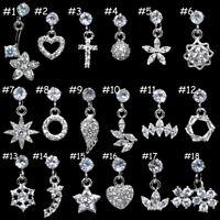 stainless steel daith earrings helix cartilage studs crystal tragus ear piercing