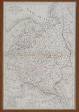 Map Carte RUSSIE d'Europe  Atlas Delamarche 1850