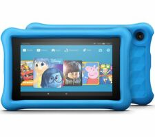 AMAZON Fire 7 Kids Edition Tablet (2017) - 16 GB, Blue - Currys