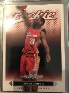 lebron james  Upper Deck  Mvp 2003/04 rookie card #201