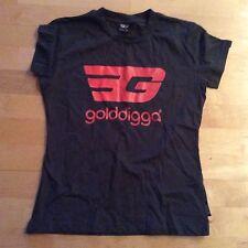 Golddigga Medium Ladies T-shirt With Golddigga Motif