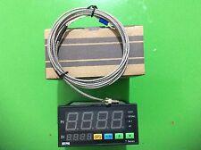 Dual F/C PID Thermostat Temperature Controller SSR output TA8-SNR+2M K Sensor
