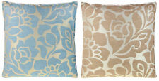Polyester Floral Square Traditional Decorative Cushions