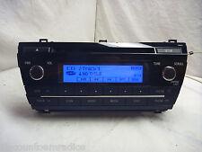 14 15 16 17 Toyota Corolla Radio Cd MP3 Player 86120-02F60 518C6 ZA068