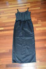 Jessica McClintock For Gunne Sax Millennium 2000 Black Evening Dress Sz 11