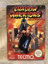 Shadow Warriors Ninja Gaiden - Jeu NES PAL A UKV - Complet