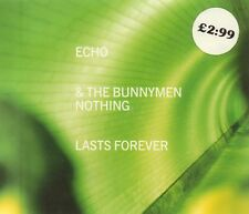 Echo & The Bunnymen(CD Single)Nothing Lasts Forever CD 2-New