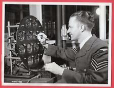 1942 RCAF Sgt. Bell Portage La Prairie Manitoba Canada Aircraft Plant News Photo