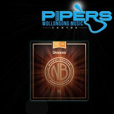 D'Addario NB1256 12-56 Nickel Bronze Medium Light Acoustic Guitar Strings NYXL