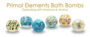 Primal Elements, BATH BOMBS FIZZ/FUN in Tub You choose 1 of 14 Delicious Scents