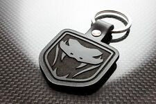 Handmade Leather Keychain Keyring for Dodge Viper (Gen 3 & 4)