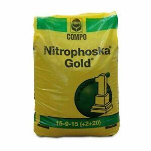 NUOVO NITROPHOSKA GOLD CONCIME A LENTA CESSIONE PER PIANTE - PRATO 25kg COMPO