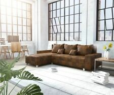 Couch Panama Braun Longchair variabel Ecksofa modular by DELIFE