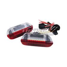 2x LED SMD Türbeleuchtung Innenraumbeleuchtung Rot / Weiß #2 für VW Seat Skoda