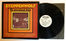 Steppenwolf - 16 Greatest Hits - 1973 US White Label Promo (NM) Ultrasonic Clean