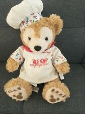 Disney Park Chef Duffy Plush Bear Mickey Mouse Epcot 2011 Food and Wine
