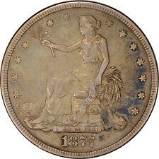1877-P TRADE SILVER DOLLAR $1 XF ORIGINAL