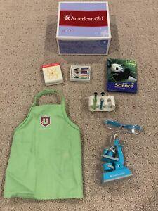 American Girl 18 Doll Science Lab School Set Box