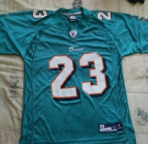 Miami Dolphins NFL Reebok Ronnie Brown #23  Jersey - Youth MEDIUM