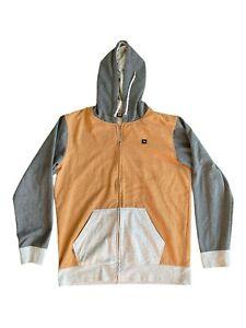 Rip Curl Mens Zip Through Sweatshirt Surf Hoodie Jumper Jacket Size L