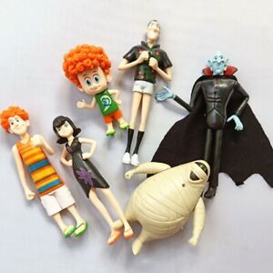 6Pcs/Set Hotel Transylvania3 Toy Doll Model Mini Action Figure Gift for Kids Toy
