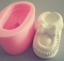 3D Baby Shoe Silicone Mold Soap Chocolate Polymer Clay Silicon Mould