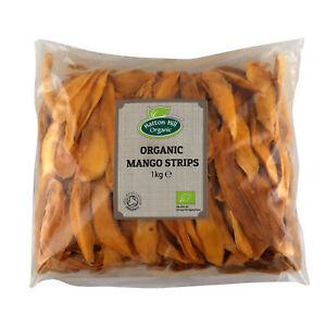 Organic Dried Mango Strips Certified Organic