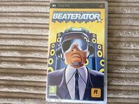 SONY PSP BEATERATOR GAME BRAND NEW AND SEALED