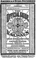 February 1926 Official Guide of the Railways CD