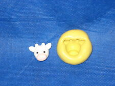 Cow Head Silicone Mold #16 For Chocolate Candy Resin Fimo Fondant Soap Candle