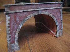 portale tunnel galleria per diorami e plastici ferroviari h0 ART.P 15
