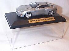 Aston Martin V12 Vanquish silver 1-43 scale  new in case