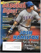 Baseball Digest-Sep/Oct 2010, Josh Hamilton, Dwight Evans, Bobby Cox and more
