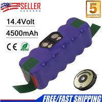 NI-MH 14.4V 4500mAh Battery For iRobot Roomba 500 510 540 550 560 650 780 R3 A++