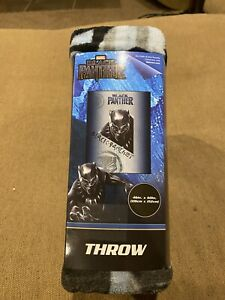 Marvel Black Panther Silky Soft Throw