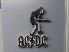 ANGUS YOUNG, AC/DC      , HAND MADE WOODEN ORNAMENTAL FIGURE (OTHERS ON REQUEST)