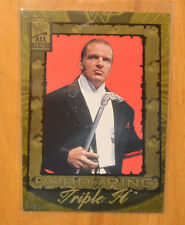 Triple H 2002 Fleer WWF WWE All Access Road to the Ring #92